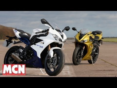 New Triumph Daytona vs Old | Tests | Motorcyclenews.com
