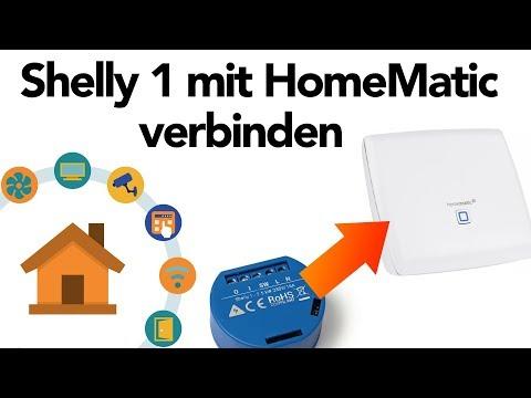Shelly 1 mit HomeMatic verbinden - so geht's! | verdrahtet.info