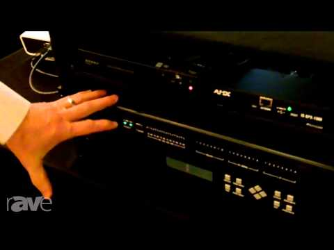 E4 AV Tour: AMX Shows Off the DVX3150 All In One Meeting Room Control Appliance