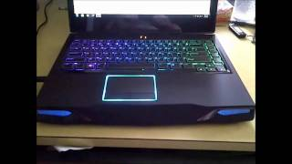 Alienware M14X Rainbow Keyboard (+ Download link)