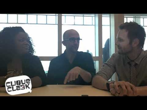 Community - Yvette Nicole Brown, Jim Rash & Joel McHale @ 2011 SDCC