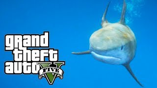GTA 5 Shark MOD! (PLAY AS A SHARK!)