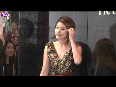 宋慧喬透視短裙人氣高 劉青云大贊老婆很漂亮