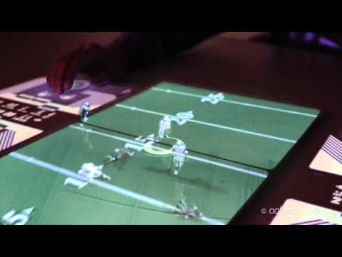 New iPad 3 Feature [3 of 3]: 3D  Multiplayer Hologram