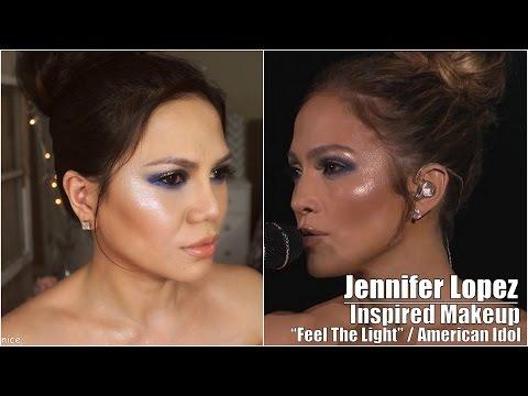 Jennifer Lopez Inspired Makeup -