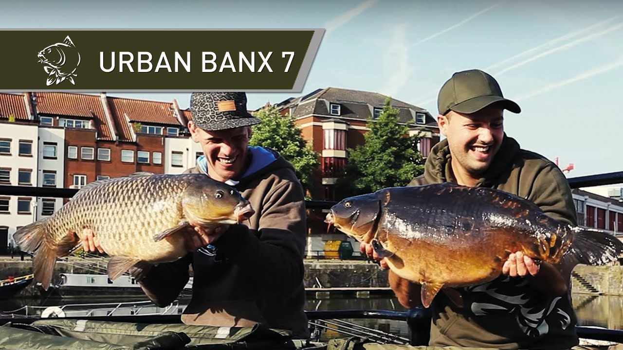 Urban Banx Carp Fishing Alan Blair in Bristol