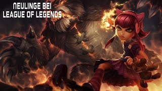 League of Legends : Neulinge haben es in LoL schwer !! [Facecam] [German] [HD]