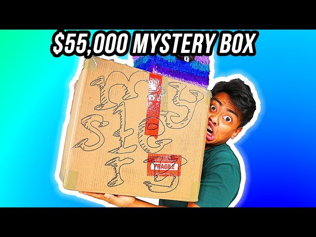 Unboxing A 50,000 Mystery Box from eBay!
