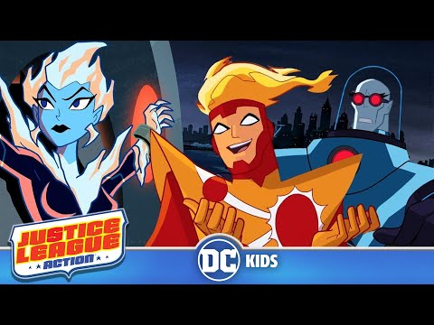 Justice League Action | Firestorm To The Rescue | DC Kids