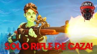 Ganando Solo Con Rifle De Caza 2 Fortnite