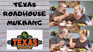 TEXAS ROADHOUSE MUKBANG