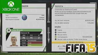 PROPOSTA MILIONARIA !!! - FIFA 15 - Modo Carreira #58 [Xbox One]
