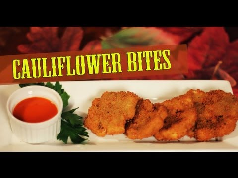 Cauliflower Bites – Cooking with The Vegan Zombie