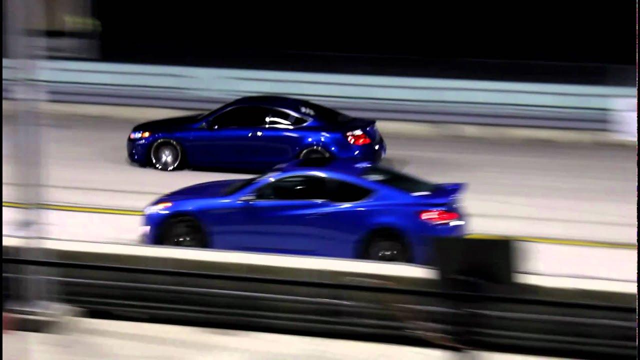 2010 Honda Accord V6 Coupe Vs 3 8 Hyd Genesis Youtube