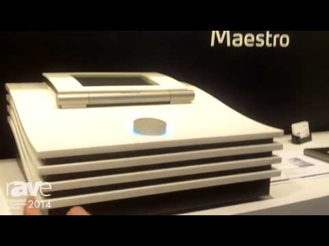 ISE 2014: Soledge Exhibits Maestro Music Server with Touch Screen