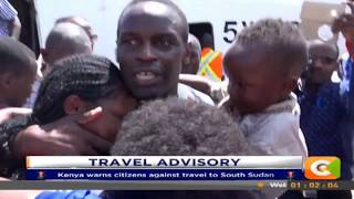 Kenya warns citizens against travel to South Sudan