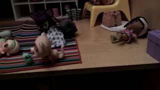 (my first video) My lol dolls in my dolls house :)