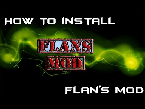 Minecraft 1.5.2: How To Install Flans Mod!!!