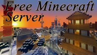 PRIVATER MINECRAFT SERVER FREE FREE TO BUILD ENGLISH/GERMAN 24H/7D ONLINE! DAILY 15