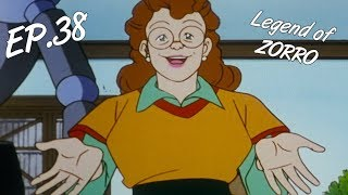 THE UNDERWATER ADVENTURE - The Legend of Zorro, ep. 38 - EN