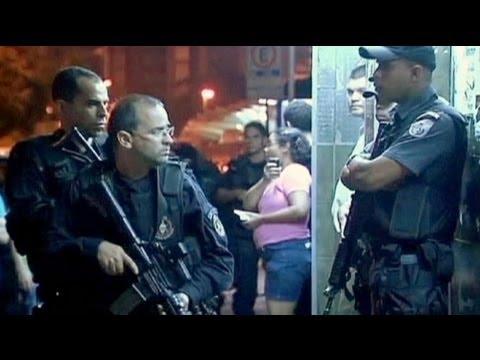 Brazil launches bid to reoccupy Rio slums
