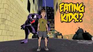 YOU CAN EAT CHILDREN!? [ULTIMATE SPIDER-MAN] [GAMECUBE] [GAMEPLAY]
