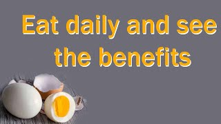 Top Health Benefits of Egg and its nutritional value of its key nutrients. Egg White and Yolk.