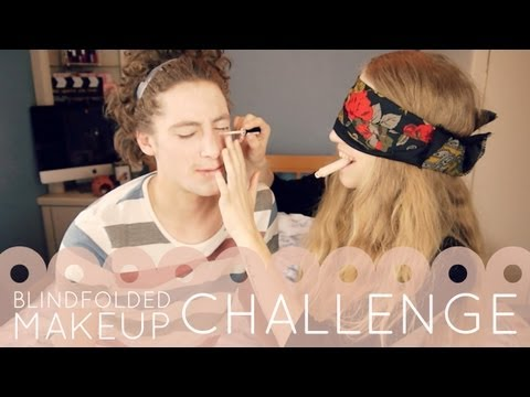 Blindfolded Makeup Challenge � Girlfriend Edition