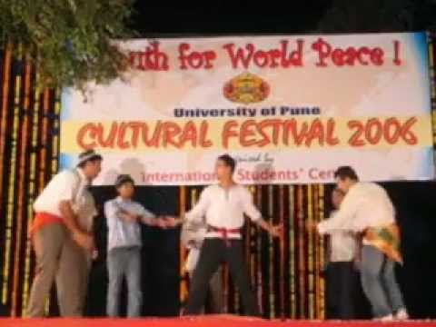 Youth Festival - Pune University, Uzbek Boys video