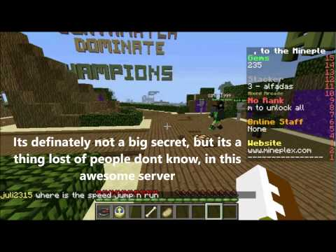 Mineplex- Awesome Secret- the cave