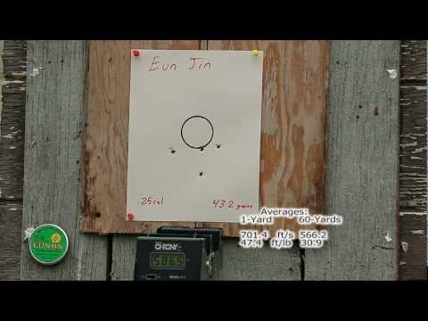 Benjamin Marauder .22 & .25    «60-Yard Accuracy & Energy Test»