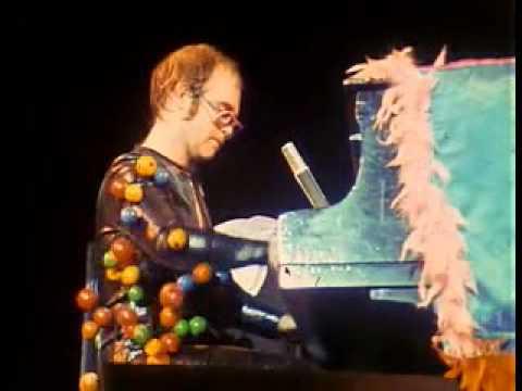Elton John Stadium Elton John-australia 1974