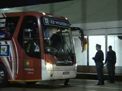 FIFA World Cup 2010 - Portugal returning home after Villa and Spain knock them out
