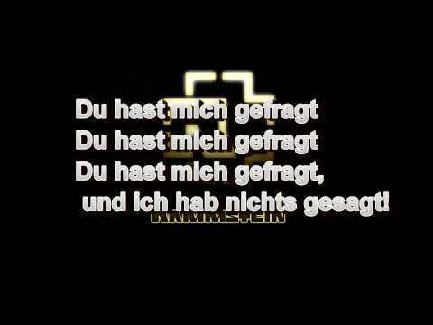 Rammstein - Du Hast (hd Lyrics) video