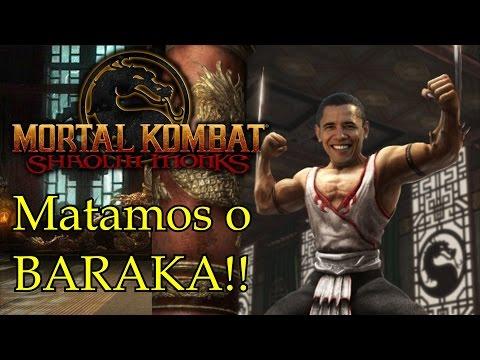 Mortal Kombat Shaolin Monks #9 - Matando Baraka (Obama Hue hue br)