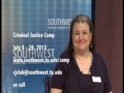 Southwest Tennessee Community College Criminal Justice Camp