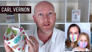 Video: Face Mask? Humans need Social Connection - Carl Vernon