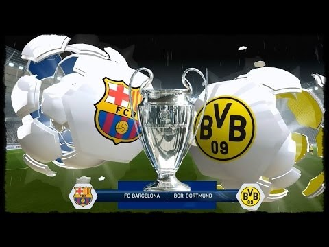 Fifa 14 BVB Karriere |ChampionsLeague Finale- Barcelona vs. BVB| #057-Let's Play Fifa 14
