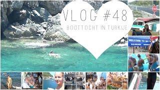 VLOG #48 BOOTTOCHT IN TURKIJE | ThingsJuliaLoves❤️
