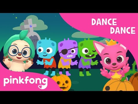 Creepy Zombies | Halloween Songs | Dance Dance | PInkfong Songs for Children