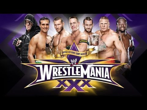 Wrestlemania 30 Matches - Completely Unnecessary Podcast