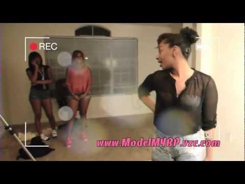 Rich Girls Body Paint Photoshoot Model My Bp video