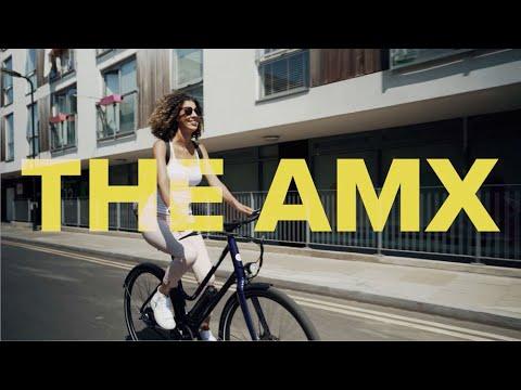 The AMX - The lightweight, high-performance, urban electric bike.