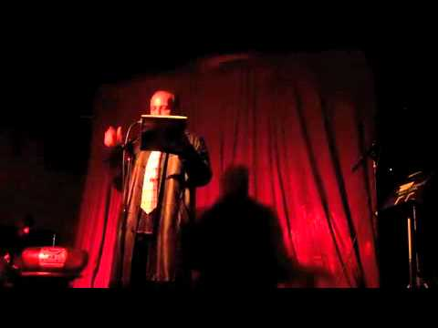 Jesus Angel Garcia at BANG OUT Reading Series Volume XI: The Social Network