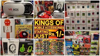 MOBILE ACCESSORIES के बादशाह | Headphone, Charger, Speaker, Gadgets, Usb Bluetooth Device Wholesaler
