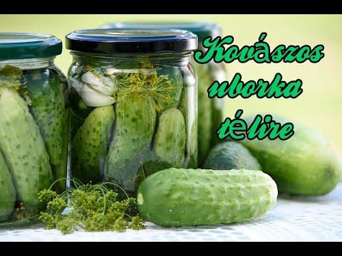 Retro konyha - igazi hagyományos retro kovászos uborka / koviubi / kovászos cukkini / kovicuki