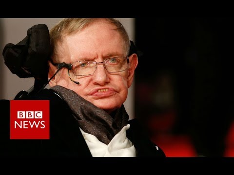 Hawking 'transformed our view of the universe' - BBC News