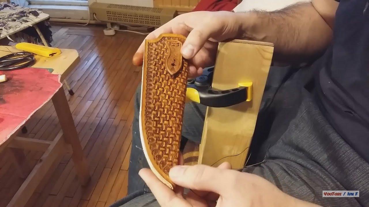 Техники шитья кожи