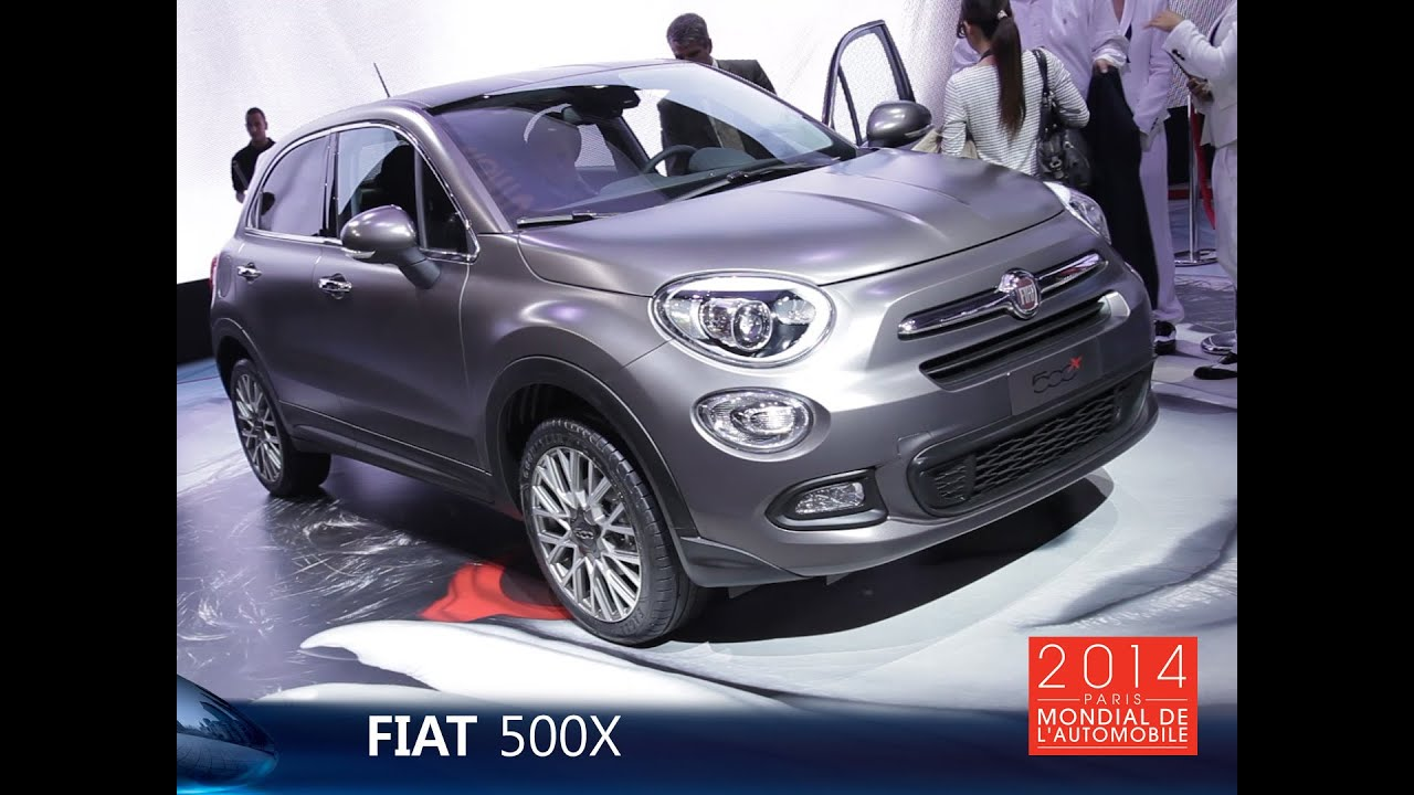 live mondial auto 2014 fiat 500x youtube. Black Bedroom Furniture Sets. Home Design Ideas