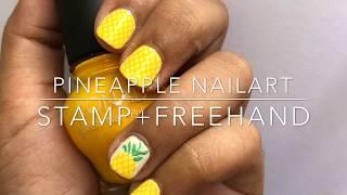 Pineapple Nailart